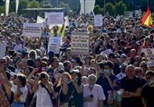 Virus: Thousands of Protesters against Restrictions in Madrid
