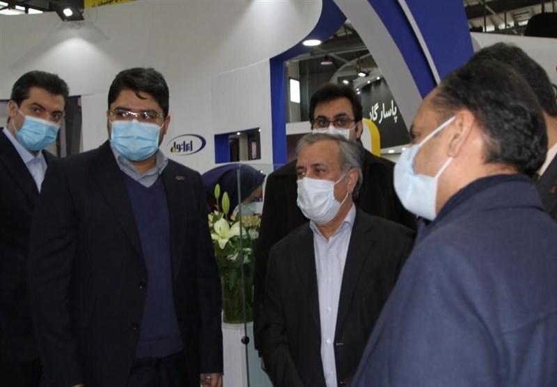 حضور مدیرعامل تاپیکو در غرفه ایرانول همزمان با سومین روز برگزاری نمایشگاه نفت