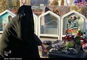 یادواره شهید مدافع حرم لنگریزاده در گلزار شهدای کرمان برگزار شد + تصاویر
