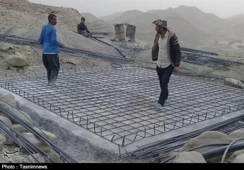 وعده سپاه در کمتر از 2 ماه عملیاتی شد / آغاز احداث مخزن آب در روستای ذهبارک بشاگرد