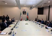 گفتگو و تبادل نظر وزرای امور خارجه ایران و جمهوری آذربایجان