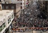 یمن|تظاهرات گسترده مردم در استانهای مختلف علیه متجاوزان/ سعودی و آمریکا نماد واقعی تروریسم هستند