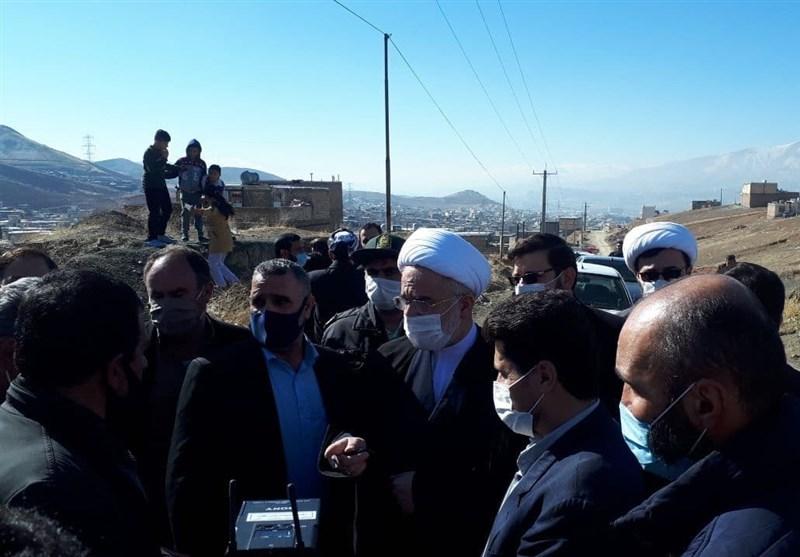 """بازدیدی از جنس امید و دلگرمی؛ نماینده ولیفقیه در کردستان به مشکلات """"نایسر"""" ورود کرد + تصاویر"""