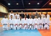 بازدید سرپرست کاروان اعزامی به المپیک از اردوی تیم ملی کاراته