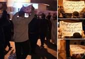 راهپیمایی شبانه بحرینیها برای همبستگی با ملت یمن