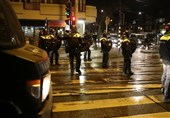 Riot Police Patrol Streets following Anti-Curfew Demo in Netherlands (+Video)