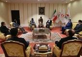 دیدار روسای فدراسیونهای بیسبال پاکستان و هند با دبیرکل کمیته ملی المپیک