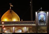 حال و هوای گلزار شهدای کرمان در شب وفات حضرت امالبنین(س) بانوی وفاداری و ادب + فیلم