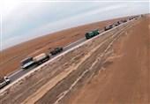 پلیس نظامی روسیه امنیت تردد در بزرگراه ام-4 سوریه را تأمین میکند