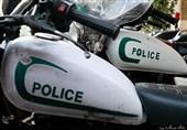 مجروح شدن مأمور پلیس در درگیری با سارقان منزل