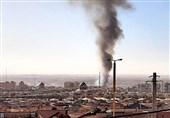 آتشسوزی 4 کیلومتری در نیزارهای پرند / حریق پس از 6 ساعت تلاش بیوقفه خاموش شد
