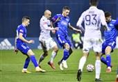 لیگ برتر کرواسی| برتری دینامو زاگرب در شب تعویض زودهنگام محرمی