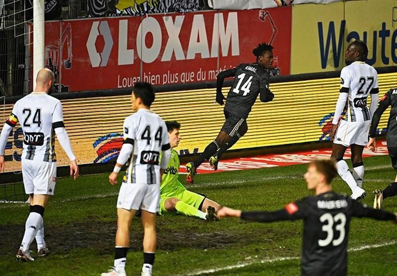 ژوپیلر لیگ بلژیک| تساوی شارلوا پس از 5 باخت پی در پی/ تک امتیاز خنت در دیدار مقابل سنت ترویدن