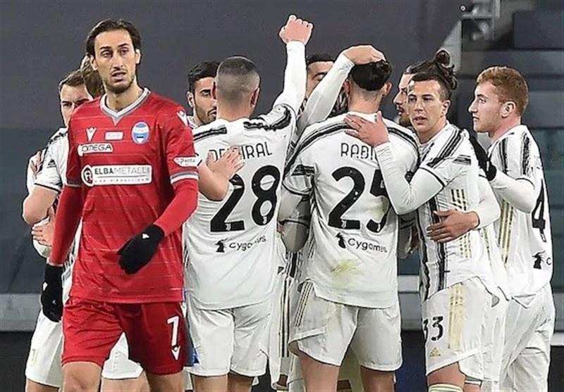 جام حذفی ایتالیا| یوونتوس در غیاب رونالدو صعود کرد/ دربی ایتالیا در نیمه نهایی