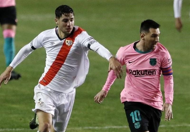 جام حذفی اسپانیا  بارسلونا با گلزنی مسی در جمع 8 تیم پایانی قرار گرفت