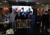 مراسم تجلیل از پیشکسوتان فوتبال اصفهان برگزار شد + تصاویر