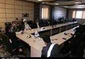 نشست رئیس بسیج رسانه کشور با اصحاب رسانه استان قزوین به روایت تصویر