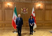 Iran's Foreign Minister Zarif in Georgia for Talks