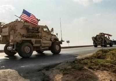 ورود کاروان جدید تجهیزات نظامی آمریکا به حومه حسکه سوریه