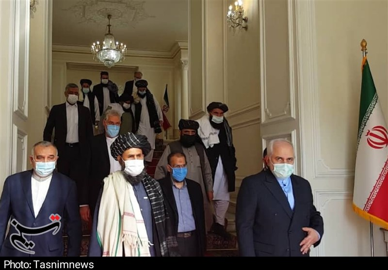 Iran Supports Inclusive Afghan Government, Zarif Tells Taliban