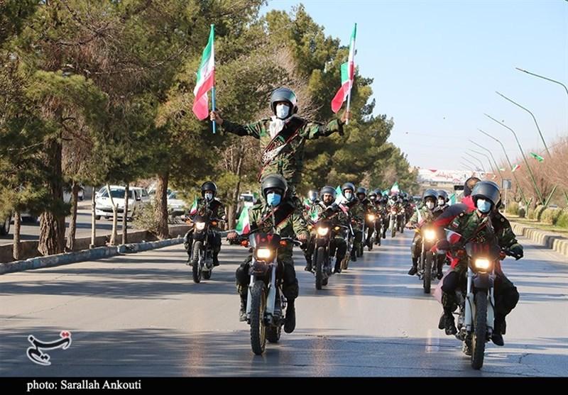 29فروردین متفاوت در کردستان؛ مراسم روز ارتش بهصورت رژه موتوری برگزار شد