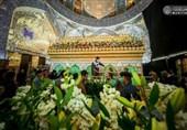 عراق| گُلآرایی مرقد مطهر امام علی(ع) در آستانه ولادت با سعادت حضرت زهرا(ع)+تصاویر