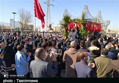 بازگشت پیکر شهید دفاع مقدس پس از ۳۸ سال؛ شهید زارعی در کنار همرزمانش آرام گرفت