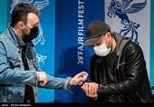 علیرضا کمالی و کامبیز دیرباز در نشست خبری فیلم تک تیرانداز - سی و نهمین جشنواره فیلم فجر