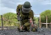 پایان دوره آموزش پاکسازی مین برای سربازان جمهوری آذربایجان در ازمیر