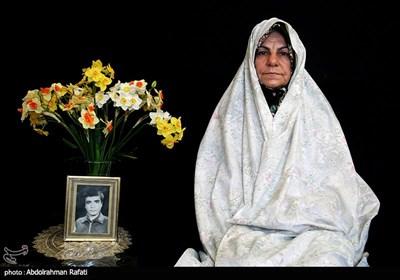 فاطمه جهان محمودیان مادر شهید رضا صفری