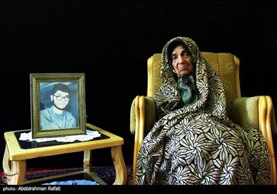 گلزار بختیاری مادر شهید حسن صوفی