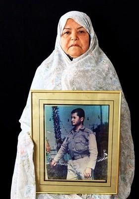 جیران مختاری مادر شهید حاجعلی یوسفی