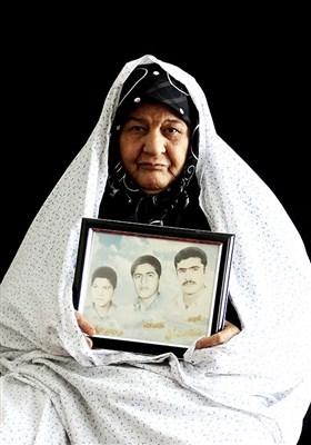 ترنج بیدابادی مادر شهیدان عباسی