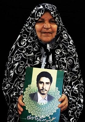 پری رضائی مادر شهید سیدعلیرضا موسوی