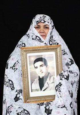 معصومه برزو مادر شهید محمد یلفانی