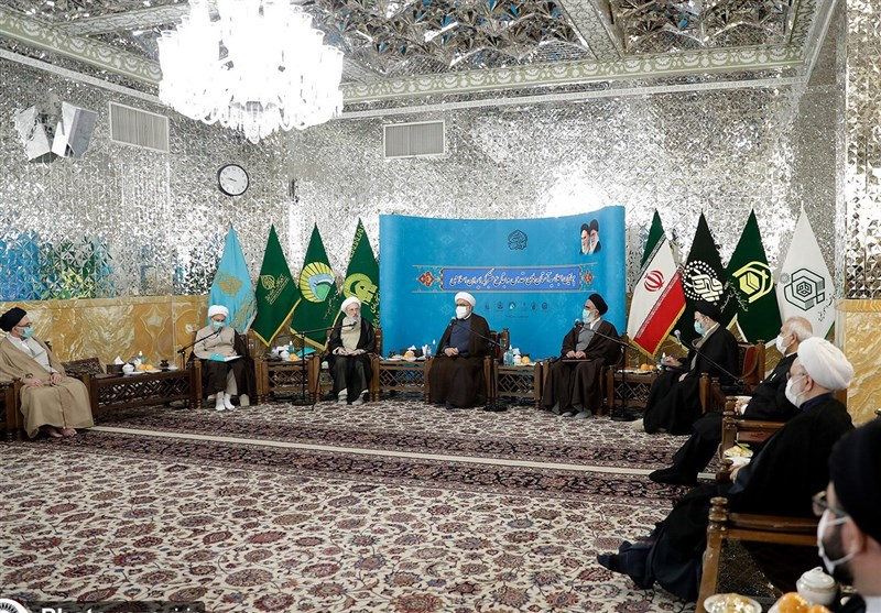 اجلاسیه آستانهای مقدس و بقاع متبرکه ایران اسلامی در حرم رضوی برپا شد