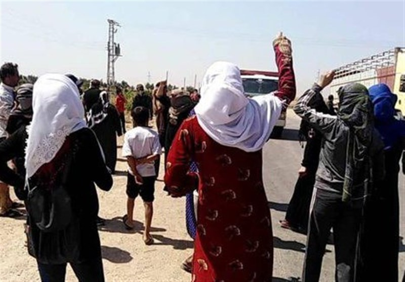 Syrian Protesters Denounce QSD Malpractices in Hasaka Countryside