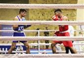 رقابت دوستانه بوکس منتخب ارتش با تیم ملی سوریه