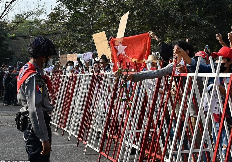 Myanmar Activists Stage 'Bloody' Protests against Military