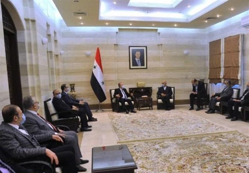 الحکومة السوریة: مستعدون لتقدیم التسهیلات لغرفة التجارة المشترکة مع إیران