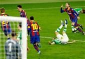 لالیگا  تداوم پیروزیهای متوالی بارسلونا با فتح خانه بتیس