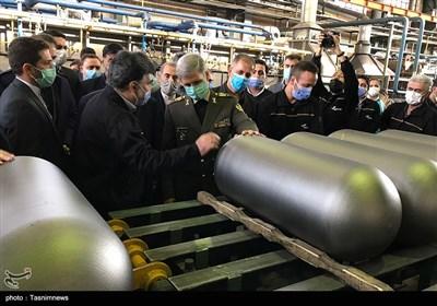 افتتاح کارخانه تولید کپسول های CNG کاوش توسط وزیر دفاع