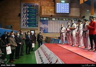 بازدید رئیس کمیته ملی المپیک از فدراسیون تکواندو