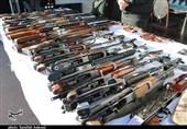 کشف 714 قبضه سلاح غیرمجاز در طرح نوروز پلیس