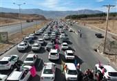 راهپیمایی خودرویی و موتوری 22 بهمن درخراسان جنوبی+ تصاویر