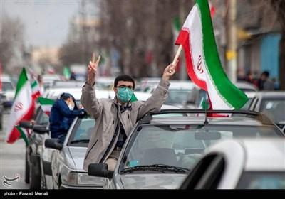 مراسم یوم الله 22 بهمن در کرمانشاه