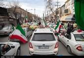 راهپیمایی خودرویی منطقه سیستان به روایت تصویر