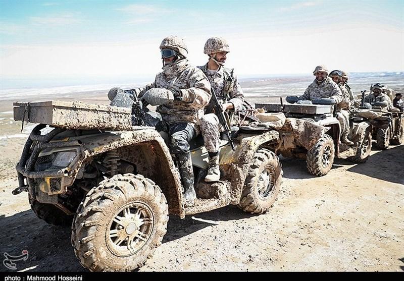 IRGC Holds War Game Southwest of Iran