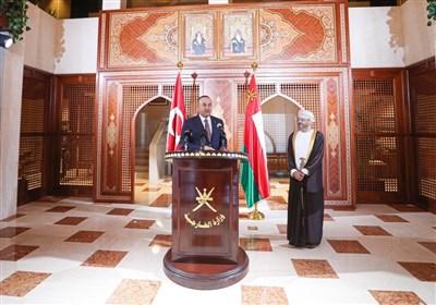 چاووش اوغلو: همکاریهای ترکیه و عمان در حوزه نظامی افزایش خواهد یافت