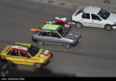 مراسم یوم الله 22 بهمن در همدان